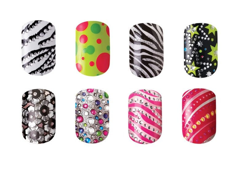 Kiss Nail Dress Nail Wraps.