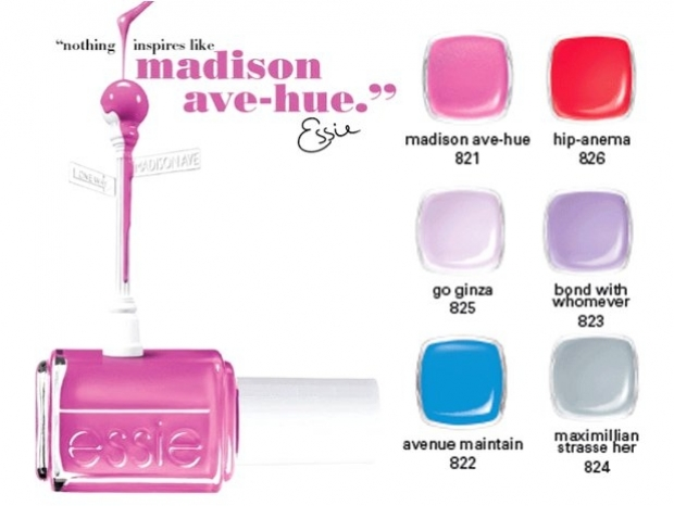 Essie Madison Ave-Hue Spring 2013 Nail Polishes