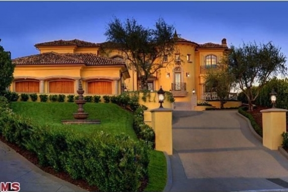 Kim Kardashian and Kanye West Bel Air Mansion 2013