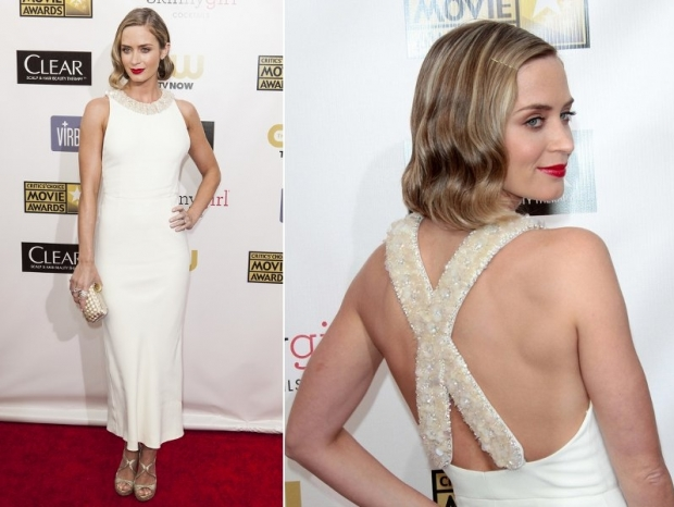 Emily Blunt Dress 2013 Critics Choice Awards