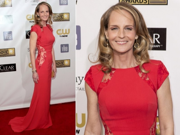 Helen Hunt Dress 2013 Critics Choice Awards
