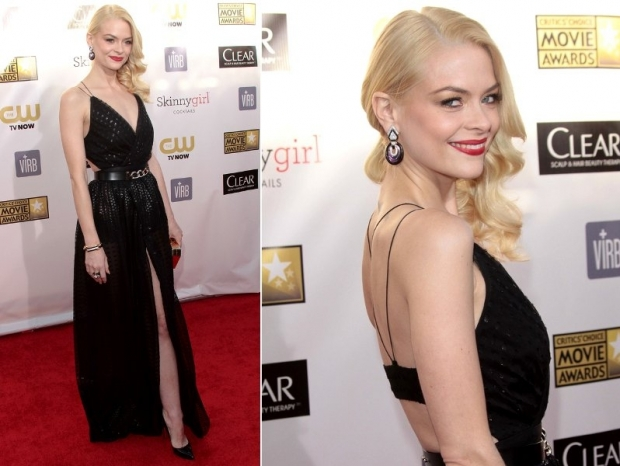 Jaime King Dress 2013 Critics Choice Awards