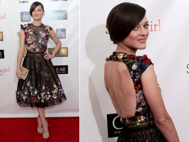 Marion Cotillard Dress at 2013 Critics Choice Awards