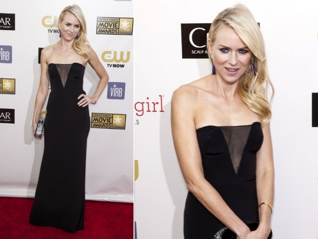Naomi Watts Dress 2013 Critics Choice Awards