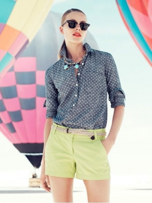 J Crew 2013 Up Up and Away Lookbook