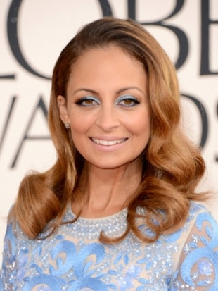 Nicole Richie Hairstyle at 2013 Golden Globe Awards