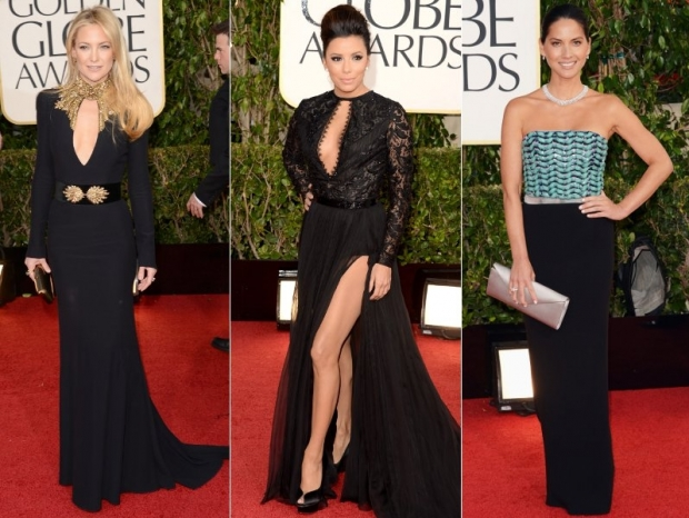 2013 Golden Globes Red Carpet Dresses