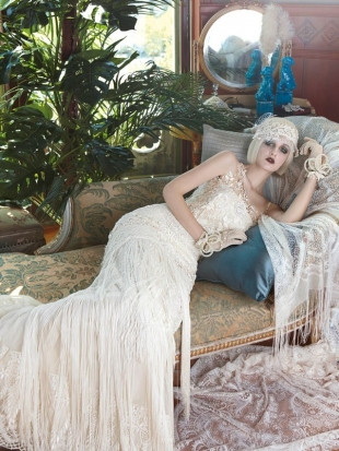 YolanCris Mademoiselle Vintage Bridal Collection