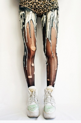 Melting Tights by URB Clothing