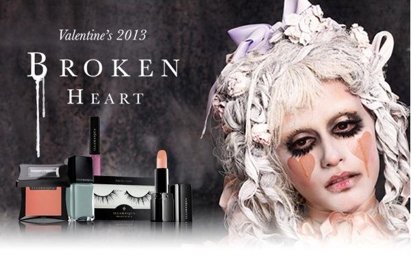 Illamasqua Broken Heart 2013 Makeup Collection