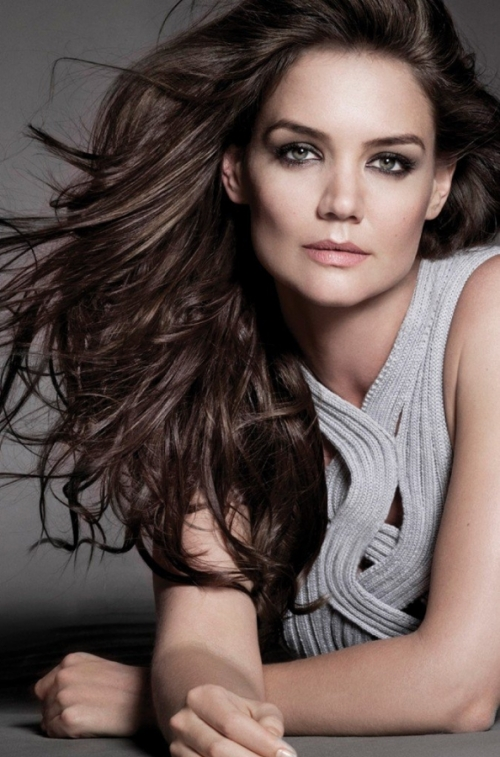 Katie Holmes Named New Face of Alterna Haircare
