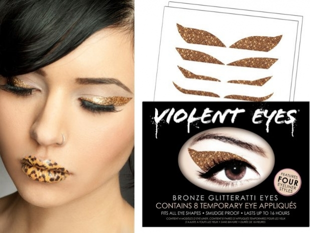 Violent Lips Introduce Violent Eyes Glitteratti Appliques