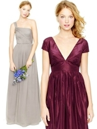 J.Crew Spring 2013 Bridesmaid Collection