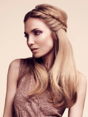 Romantic Hairstyles for Valentines Day