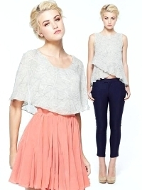 Lauren Conrad's Paper Crown Spring 2013 Lookbook