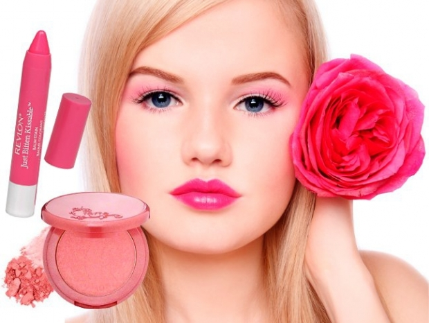 Romantic Pink Makeup Look for Valentines Day