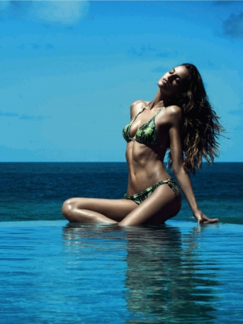 Izabel Goulart for Cia Maritima 2013 Swimwear