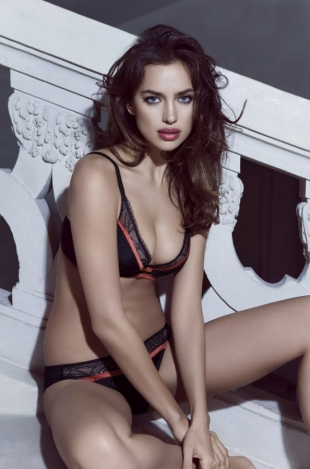 Irina Shayk for La Clover Valentines Day 2013 Lingerie Campaign