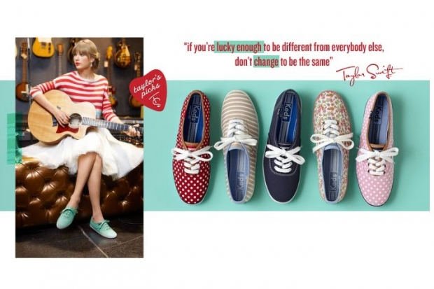Taylor Swift for Keds Bravehearts Campaign