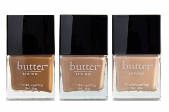 butter LONDON Starkers Color Undressed Spring 2013 Collection