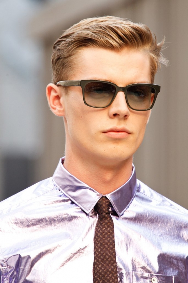 men�s runway hairstyles 2013