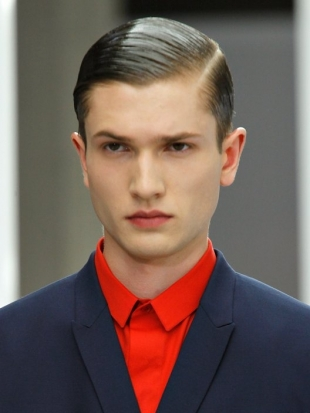 Mens Hairstyles and Haircuts 2013 Slicked