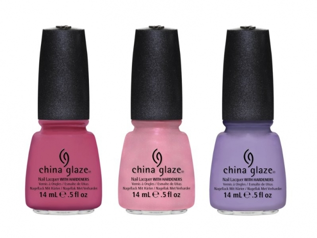 China Glaze Pastel Petals Spring 2013 Nail Polishes