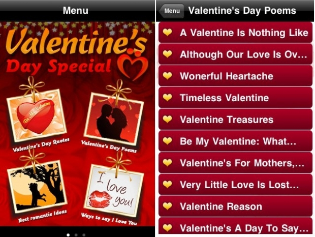 Valentines Day 2013 iPhone Apps