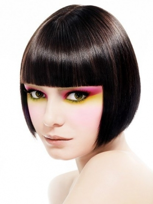 Pageboy Haircut with Fringe