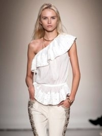 Isabel Marant at Paris Fashion Week Fall 2013