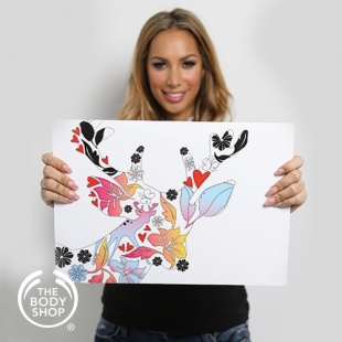Leona Lewis for The Body Shop Cruelty Free Makeup Line