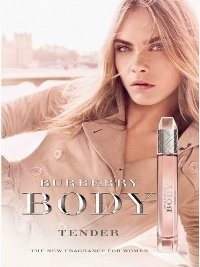 Cara Delevingne for Burberry's Body Tender Fragrance