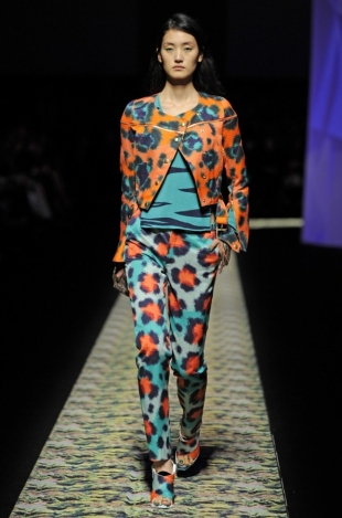 Kenzo at Paris Fashion Week Fall 2013