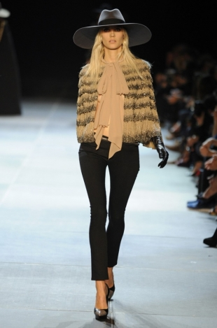 Saint Laurent at Paris Fashion Week Fall 2013