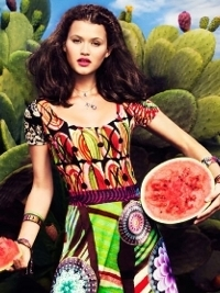 Desigual Spring/Summer 2013 Lookbook