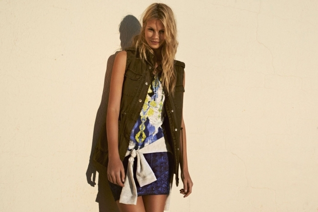 BSK by Bershka March 2013 Lookbook