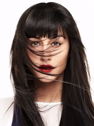 Wispy Bangs: Layered Bangs and Soft Fringes