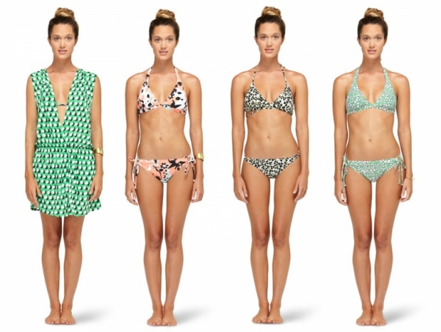 DVF x Roxy Swimwear 2013 Collection