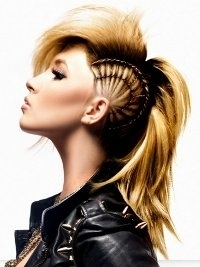 Fantastic Girl Mohawk Hairstyles Trends And Ideas Hairstyle Inspiration Daily Dogsangcom