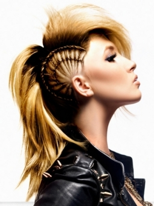 Girl Mohawk Hairstyles Trends and Ideas