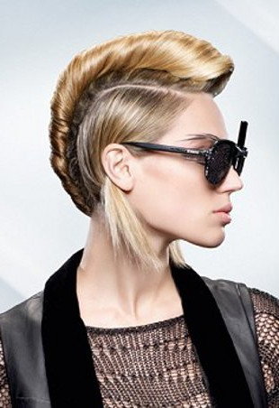 Pleasant Mohawk Hairstyles For Girls Celebrity Hairstyles Hairstyle Inspiration Daily Dogsangcom