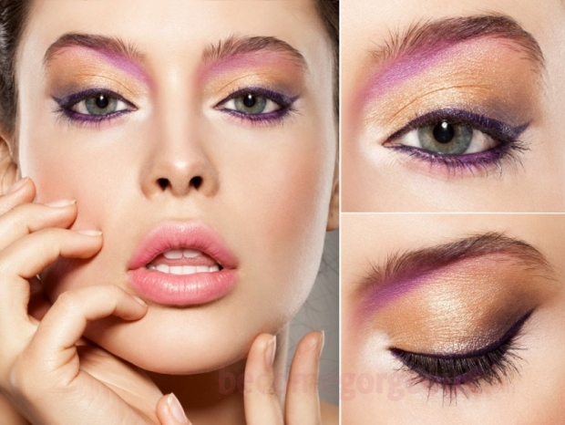 70s Eye Makeup Ideas Colorful Eyeshadows