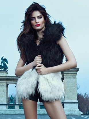 Isabeli Fontana for Morena Rosa Winter 2013 Campaign