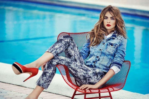 Cara Delevingne for Reserved Spring/Summer 2013 Campaign