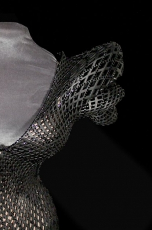 Dita Von Teese Wears the First 3D Printed Dress