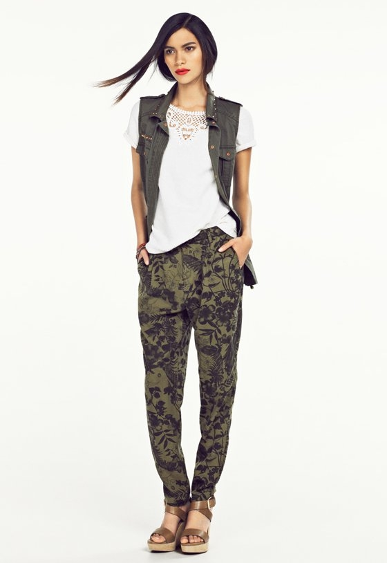 Mango March 2013 Lookbook