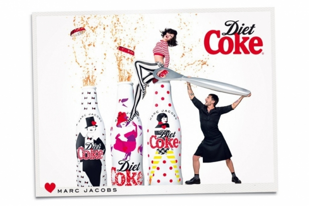Marc Jacobs Diet Coke Campaign 2013