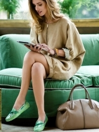 Blogger Chiara Ferragni for Tod's Touch Accessories