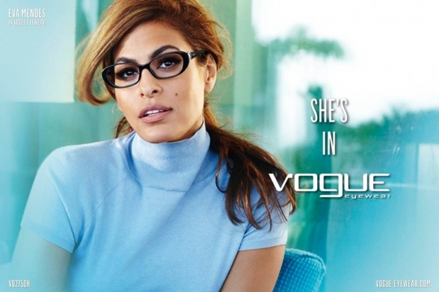 Eva Mendes Is the New Face of Vogue Eyewear for 2013
