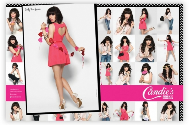 Carly Rae Jepsen for Candies Spring 2013 Campaign